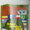 Coleccionismo de Revistas y Periódicos: REVISTA TECNOLOGÍA MILITAR N 4 1992. Lote 168189014