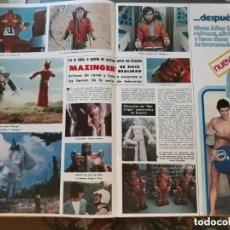 Coleccionismo de Revistas y Periódicos: MAZINGER Z EL ROBOT DE LAS ESTRELLAS. Lote 195153773