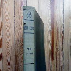 Coleccionismo de Revistas y Periódicos: CATOLICISMO REVISTA MENSUAL DE MISIONES 1947 1948 24 NUMEROS MAS DE 725 PAGINAS RELIGION. Lote 168243604