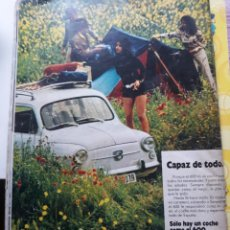 Coleccionismo de Revistas y Periódicos: ANUNCIO SEAT 600. Lote 168321488