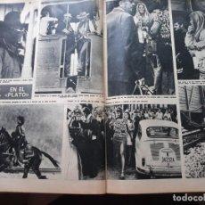 Coleccionismo de Revistas y Periódicos: BRIGITTE BARDOT CLAUDIA CARDINALE EN BURGOS. Lote 168323076
