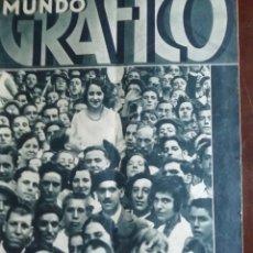 Coleccionismo de Revistas y Periódicos: MUNDO GRAFICO AÑO 1932 PIEDRAHITA -VERA DEL BIDASOA . Lote 168353636