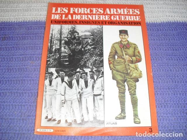 Coleccionismo de Revistas y Periódicos: 11 FASCICULOS - LES FORCES ARMÉES DE LA DERNIÈRE GUERRE . AÑO 1980. - Foto 2 - 168370976