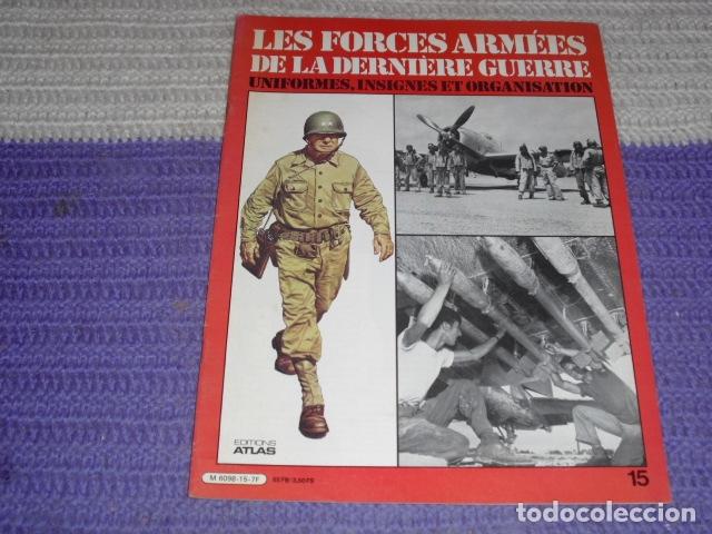Coleccionismo de Revistas y Periódicos: 11 FASCICULOS - LES FORCES ARMÉES DE LA DERNIÈRE GUERRE . AÑO 1980. - Foto 3 - 168370976