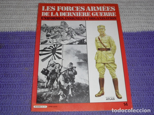 Coleccionismo de Revistas y Periódicos: 11 FASCICULOS - LES FORCES ARMÉES DE LA DERNIÈRE GUERRE . AÑO 1980. - Foto 5 - 168370976