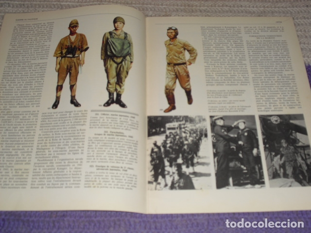 Coleccionismo de Revistas y Periódicos: 11 FASCICULOS - LES FORCES ARMÉES DE LA DERNIÈRE GUERRE . AÑO 1980. - Foto 6 - 168370976