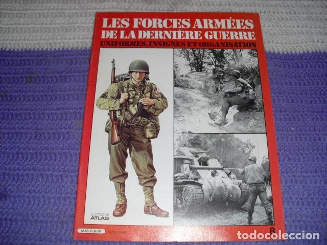 Coleccionismo de Revistas y Periódicos: 11 FASCICULOS - LES FORCES ARMÉES DE LA DERNIÈRE GUERRE . AÑO 1980. - Foto 10 - 168370976
