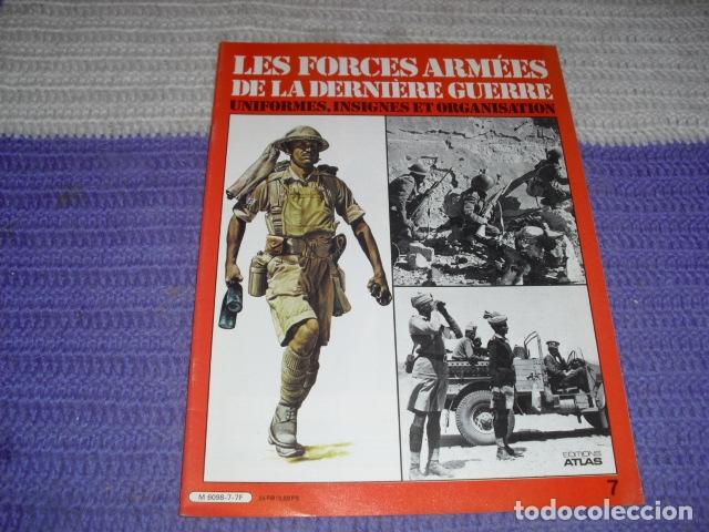 Coleccionismo de Revistas y Periódicos: 11 FASCICULOS - LES FORCES ARMÉES DE LA DERNIÈRE GUERRE . AÑO 1980. - Foto 13 - 168370976