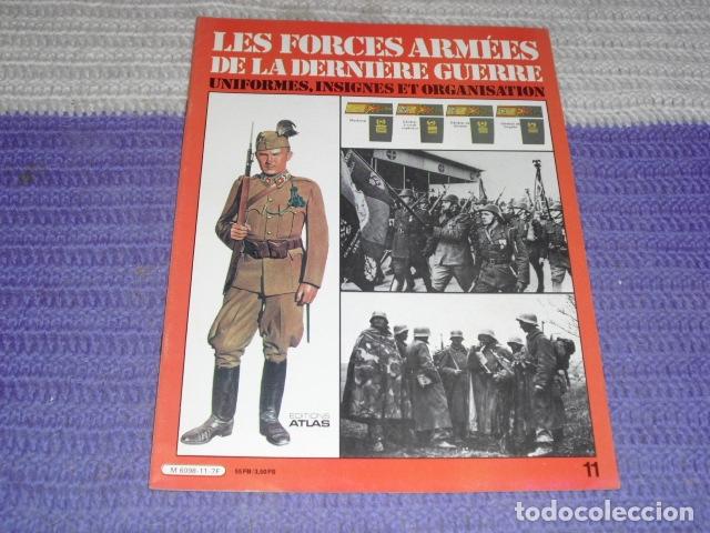 Coleccionismo de Revistas y Periódicos: 11 FASCICULOS - LES FORCES ARMÉES DE LA DERNIÈRE GUERRE . AÑO 1980. - Foto 14 - 168370976