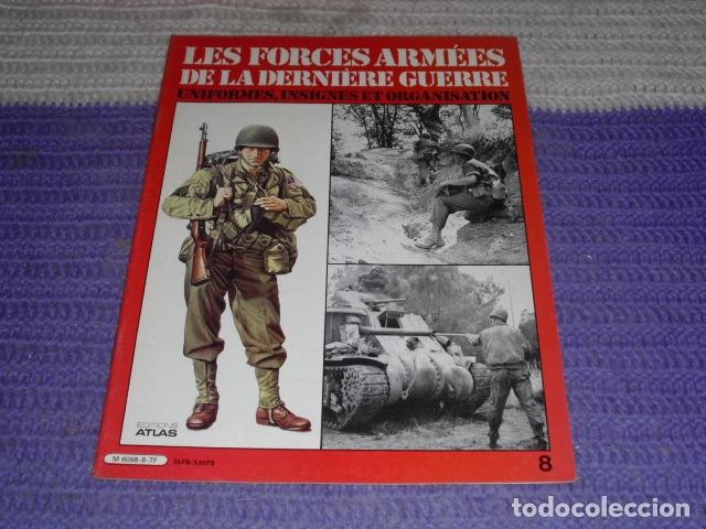 Coleccionismo de Revistas y Periódicos: 11 FASCICULOS - LES FORCES ARMÉES DE LA DERNIÈRE GUERRE . AÑO 1980. - Foto 17 - 168370976