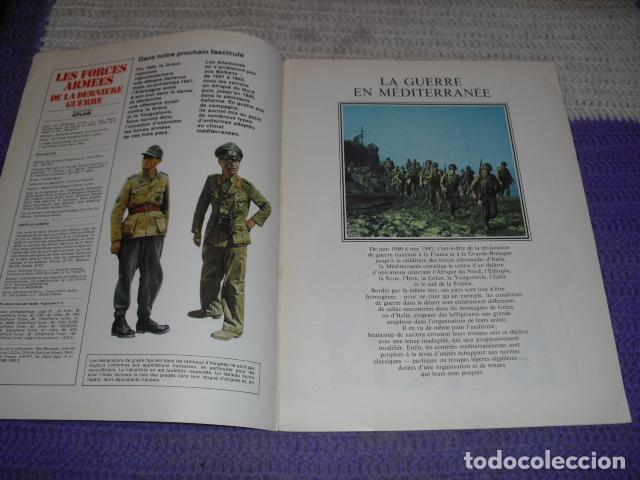 Coleccionismo de Revistas y Periódicos: 11 FASCICULOS - LES FORCES ARMÉES DE LA DERNIÈRE GUERRE . AÑO 1980. - Foto 18 - 168370976