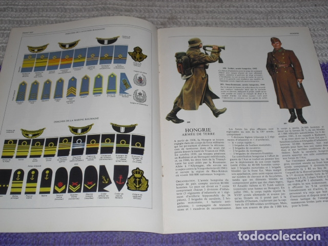 Coleccionismo de Revistas y Periódicos: 11 FASCICULOS - LES FORCES ARMÉES DE LA DERNIÈRE GUERRE . AÑO 1980. - Foto 19 - 168370976