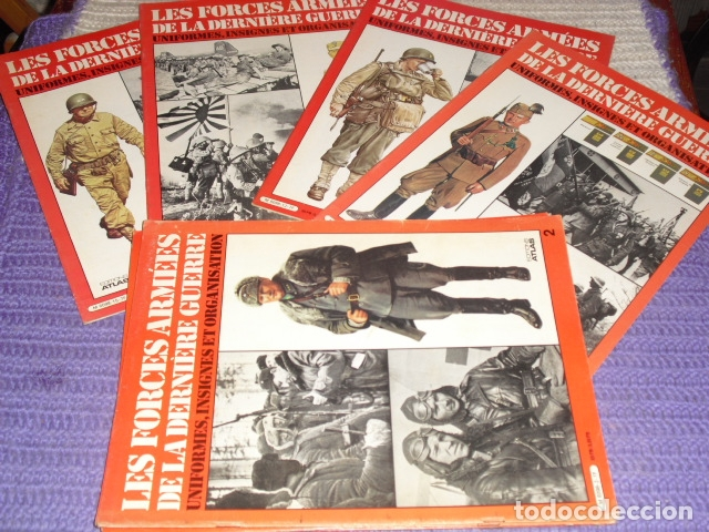11 FASCICULOS - LES FORCES ARMÉES DE LA DERNIÈRE GUERRE . AÑO 1980. (Coleccionismo - Revistas y Periódicos Modernos (a partir de 1.940) - Otros)