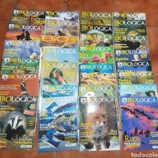 Coleccionismo de Revistas y Periódicos: LOTE 29 REVISTAS BIOLOGICA. Lote 168374632