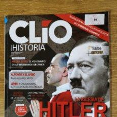 Coleccionismo de Revistas y Periódicos: REVISTA CLIO N°196 - LA IGLESIA DE HITLER. Lote 168402337