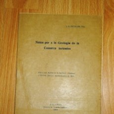 Coleccionismo de Revistas y Periódicos - BATALLER, J.R. Notes per a la Geologia de la Comarca tortosina [SEPARATA] - 168443160