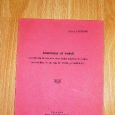 Coleccionismo de Revistas y Periódicos - BATALLER, J.R. Anotacions al treball : 'La colección de minerales, rocas-fósiles y objeto [SEPARATA] - 168443632