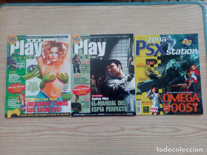 Coleccionismo de Revistas y Periódicos: 6 Revistas Playstation Power - Play Mania - Playstation - Foto 2 - 168466784
