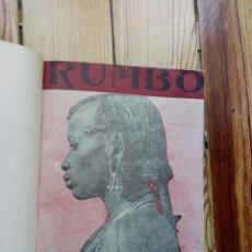 Coleccionismo de Revistas y Periódicos: RUMBO 1948 9 NÚMEROS DEL 31 AL 40. Lote 168479804