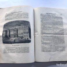 Coleccionismo de Revistas y Periódicos - CIRCULO CIENTIFICO Y LITERARIO / MADRID 1854 / 22 EJEMPLARES ENCUADERNADOS / COMPLETO / MUY RARO - 168489852
