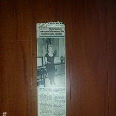 Coleccionismo de Revistas y Periódicos: MARTA SANCHEZ - ENTREVISTA - AÑO 1990. Lote 151437034