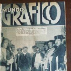 Coleccionismo de Revistas y Periódicos: MUNDO GRAFICO AÑO 1932 TRAGEDIA CASTILBLANCO. Lote 168518780