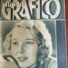 Coleccionismo de Revistas y Periódicos: MUNDO GRAFICO AÑO 1932 BELVER DEL CINCA (HUESCA) -CASTILBLANCO. Lote 168520720