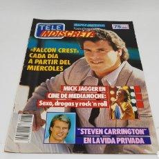 Coleccionismo de Revistas y Periódicos: TELE INDISCRETA TELEINDISCRETA NUMERO 65 DINASTIA FALCON CREST. Lote 168527668