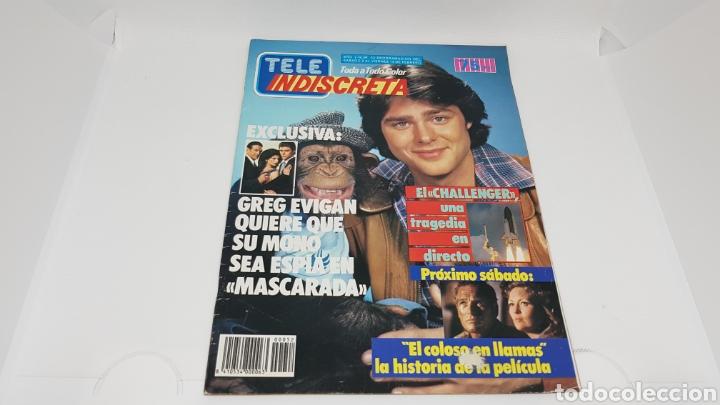 TELE INDISCRETA TELEINDISCRETA NUMERO 52 FALCON CREST (Coleccionismo - Revistas y Periódicos Modernos (a partir de 1.940) - Otros)
