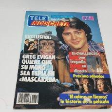 Coleccionismo de Revistas y Periódicos: TELE INDISCRETA TELEINDISCRETA NUMERO 52 FALCON CREST. Lote 168530212