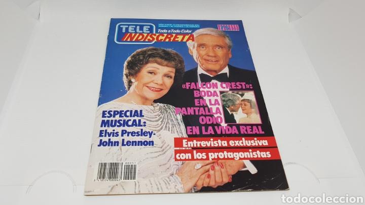 TELE INDISCRETA TELEINDISCRETA NUMERO 51 FALCON CREST (Coleccionismo - Revistas y Periódicos Modernos (a partir de 1.940) - Otros)