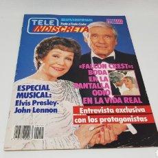 Coleccionismo de Revistas y Periódicos: TELE INDISCRETA TELEINDISCRETA NUMERO 51 FALCON CREST. Lote 168530960