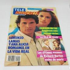 Coleccionismo de Revistas y Periódicos: TELE INDISCRETA TELEINDISCRETA NUMERO 49 COMIC EQUIPO A. Lote 168533540