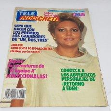 Coleccionismo de Revistas y Periódicos: TELE INDISCRETA TELEINDISCRETA NUMERO 39 COMIC EQUIPO A UN DOS TRES. Lote 168538120