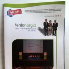 Coleccionismo de Revistas y Periódicos: REVISTA FENIENERGIA 41. Lote 235368235
