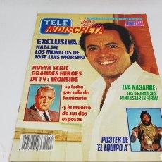 Coleccionismo de Revistas y Periódicos: TELE INDISCRETA TELEINDISCRETA NUMERO 27 COMIC SERIE V POSTER EL EQUIPO A. Lote 168597664