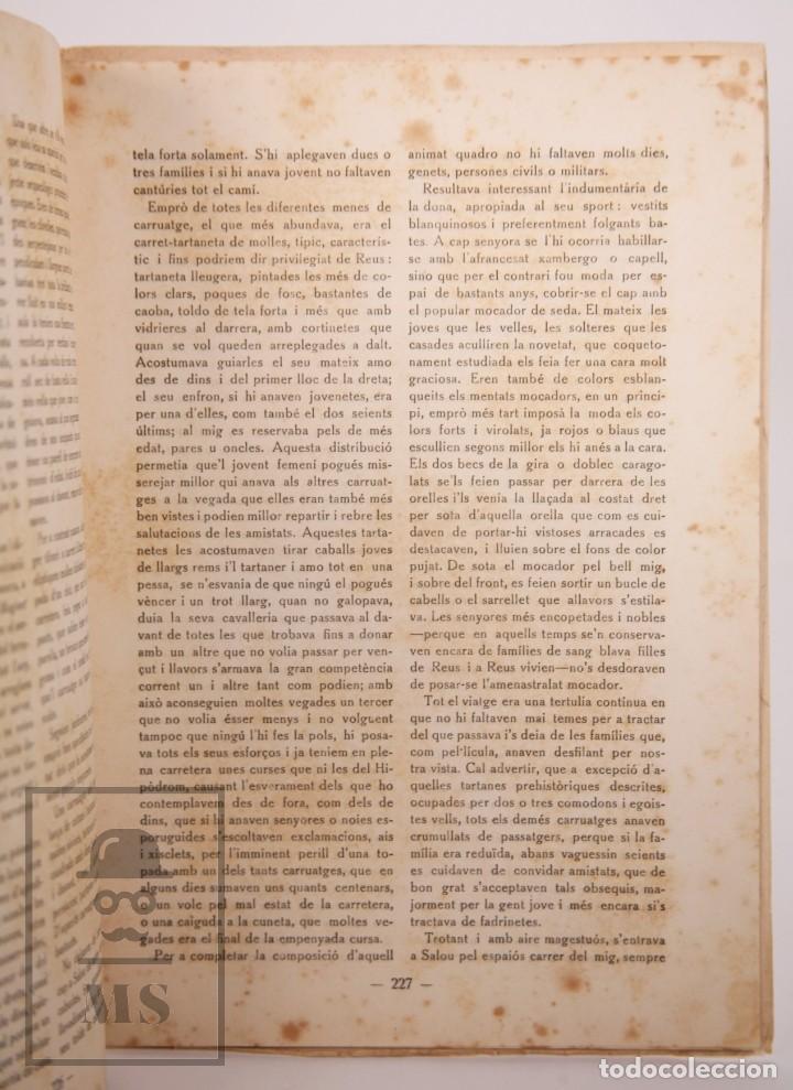 Coleccionismo de Revistas y Periódicos: Antigua Revista del Centre de Lectura de Reus - Any IV, Núm. 88 - Año 1923 - Foto 3 - 168672612