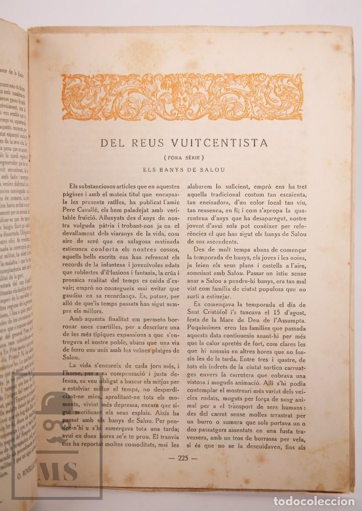 Coleccionismo de Revistas y Periódicos: Antigua Revista del Centre de Lectura de Reus - Any IV, Núm. 88 - Año 1923 - Foto 4 - 168672612