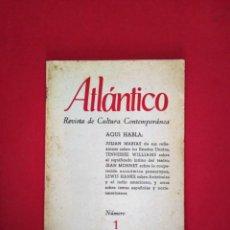 Coleccionismo de Revistas y Periódicos: ATLANTICO REVISTA DE CULTURA CONTEMPORANEA 1956 N 1 . Lote 168689928