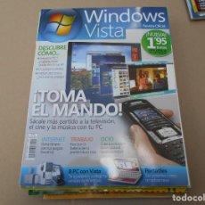 Coleccionismo de Revistas y Periódicos: WINDOWS VISTA REVISTA OFICIAL. Lote 168749148