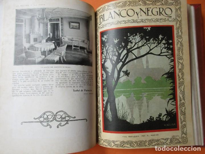 TOMO DE REVISTAS BLANCO Y NEGRO 1927/1928. (Coleccionismo - Revistas y Periódicos Antiguos (hasta 1.939))