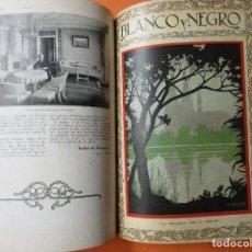 Coleccionismo de Revistas y Periódicos: TOMO DE REVISTAS BLANCO Y NEGRO 1927/1928. . Lote 168817880