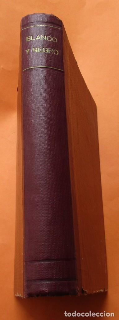 Coleccionismo de Revistas y Periódicos: TOMO DE REVISTAS BLANCO Y NEGRO 1927/1928. - Foto 2 - 168817880