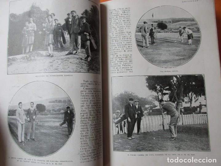 Coleccionismo de Revistas y Periódicos: TOMO DE REVISTAS BLANCO Y NEGRO 1927/1928. - Foto 5 - 168817880