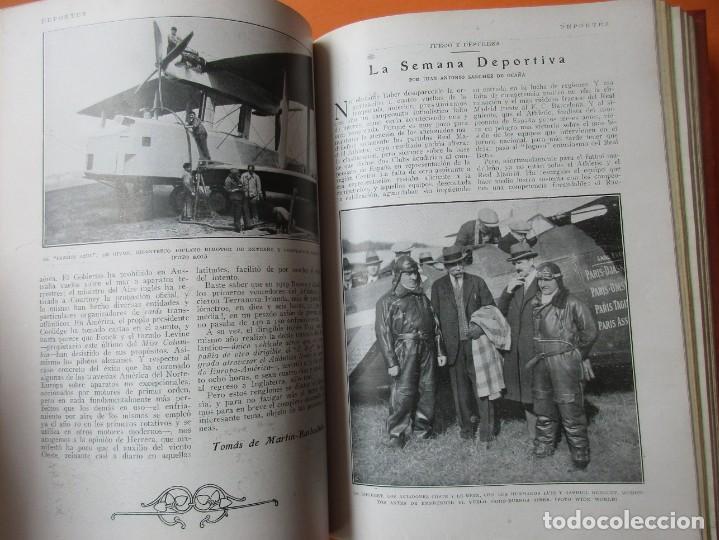 Coleccionismo de Revistas y Periódicos: TOMO DE REVISTAS BLANCO Y NEGRO 1927/1928. - Foto 8 - 168817880