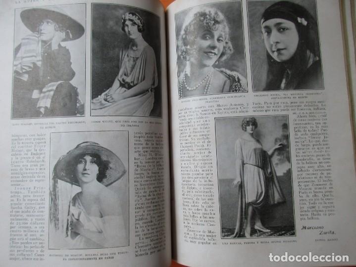 Coleccionismo de Revistas y Periódicos: TOMO DE REVISTAS BLANCO Y NEGRO 1927/1928. - Foto 9 - 168817880