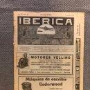 Coleccionismo de Revistas y Periódicos: REVISTAS. IBÉRICA, AÑO VIII, NO.372, EL PROGRESO DE LAS CIENCIAS Y SUS APLICACIONES (A.1921). Lote 168849328