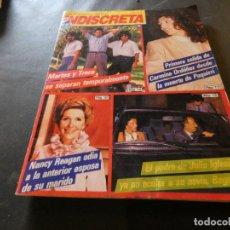 Coleccionismo de Revistas y Periódicos: REVISTA EN BUEN ESTADO TELE INDISCRETA 37 22 OCTUBRE 1984 . Lote 168854356