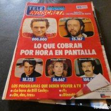 Coleccionismo de Revistas y Periódicos: REVISTA EN BUEN ESTADO TELE INDISCRETA 220 29 ABRIL 1989. Lote 168854440