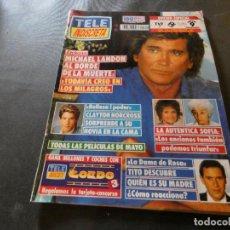 Coleccionismo de Revistas y Periódicos: REVISTA EN BUEN ESTADO TELE INDISCRETA 324 27 ABRIL 1991 . Lote 168854532